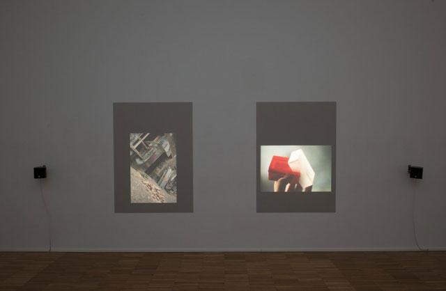 Installation view, 'Tris Vonna-Michell: Postscript II (Berlin)' at Jan Mot gallery (image via contemporaryartdaily.com)
