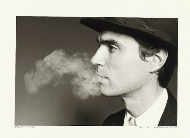 "Marcia Resnick, ""David Byrne"" (1981), Gelatin silver print (© Marcia Resnick)"