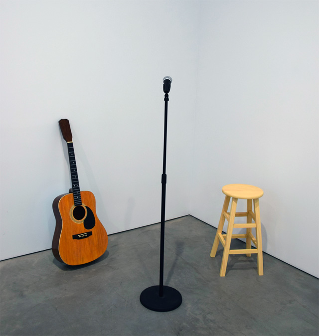 """Tom Friedman, """"Moot"""" (2014) (all images by the author for Hyperallergic)"""