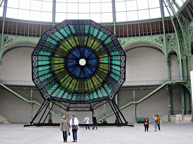 """The color-changing """"Dome"""" in """"The Strange City"""""""