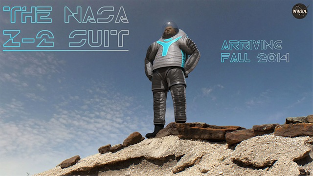 NASA Z-2 design for the new spacesuits (all images via NASA)