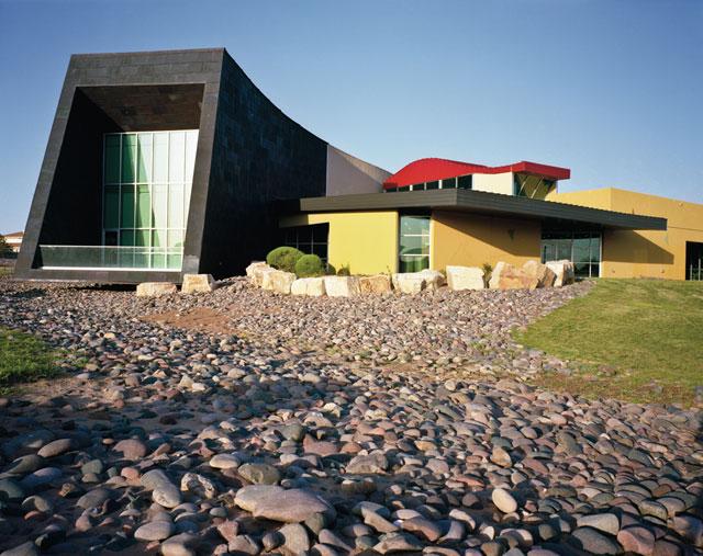 Richard Dawson, Esperanza Moreno Regional Branch Library, El Paso, Texas (2011)