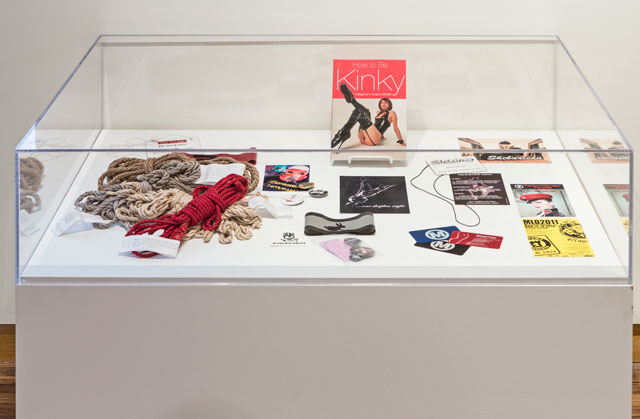 Installation view, 'Archiving Public Sex' (all images courtesy the University of Toronto Art Centre)