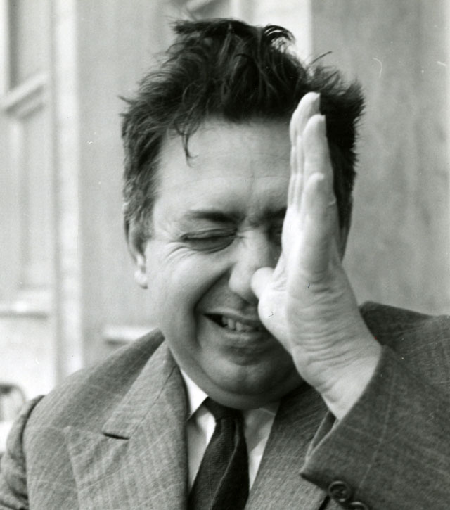 Auteur inconnu. Portrait d'Henri Langlois, DR © Collection La Cinémathèque française