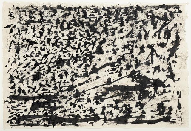 Henri Michaux _SansTitre_ (1960)  45x32 cm