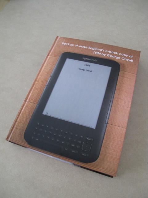"""E-Book Backup,"" (2014)"