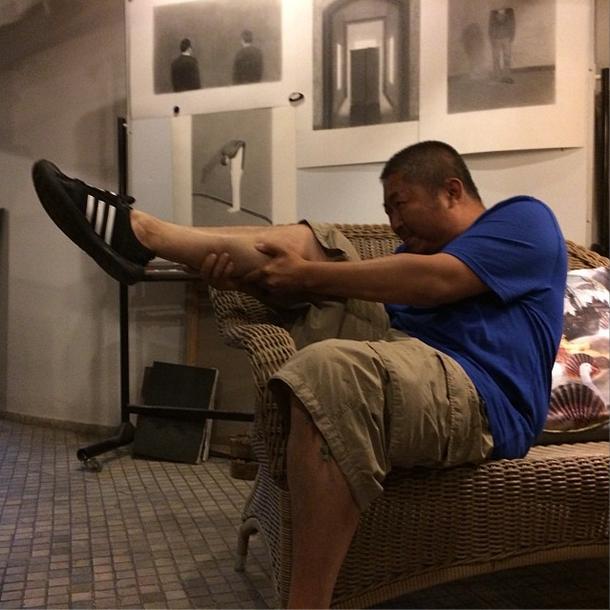 The image that launched Ai Weiwei's meme (via twitter.com/aiww)