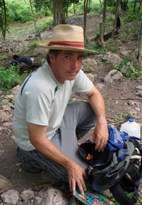Timothy Pugh, one of the archeologists working at the site (Courtesy of Queens College)