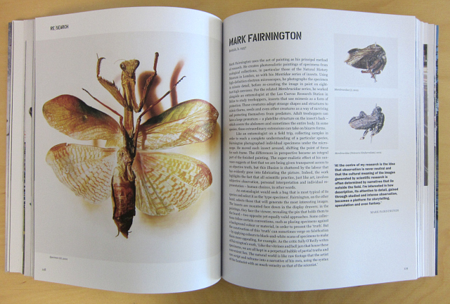 """""""Art & Ecology Now"""" (photograph of the book by the author for Hyperallergic)"""