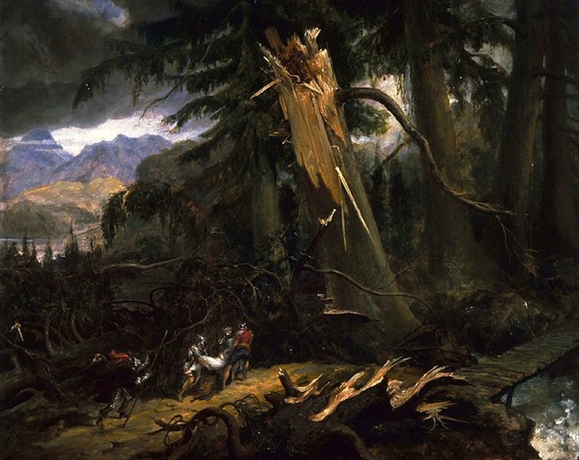 The Romantic Symbolism Of Trees