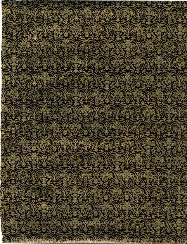 Damask pattern (1890-1930)