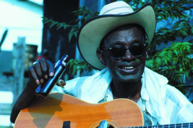 The Blues Accordin' to Lightnin' Hopkins from the Yum, Yum, Yum! 3 Movies by Les Blank Photo Credit: courtesy Janus Films