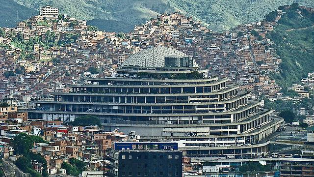 El Helicoide in 2008 (photograph by Damián D. Fossi Salas, via Wikimedia)