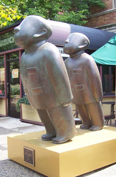 """Zhu Wei, """"China, China"""" (2003) (courtesy Gateway Foundation)"""