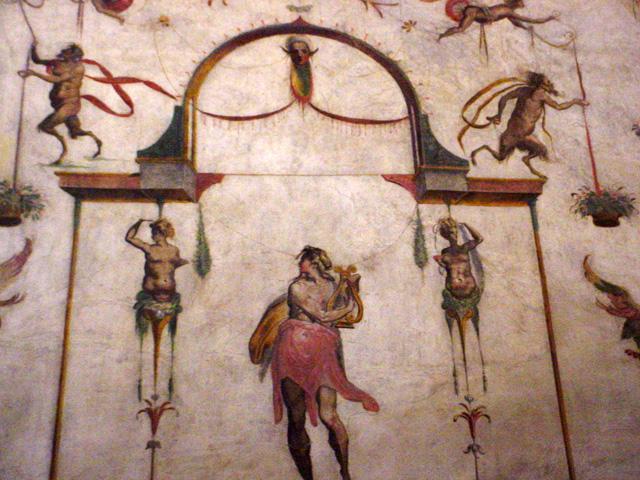 Bartolomeo Ammannati, stucco work, Leonardo Ricciarelli, Giovanni Boscoli & Mariotto di Francesco (1556-1558) detail