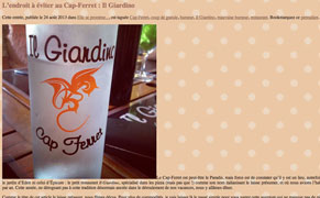 Post image for French Food Blogger Fined $3,400 for Bad Review