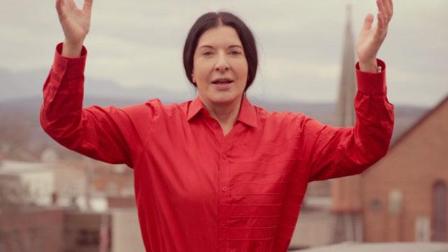 Marina Abramović (screenshot via Vimeo)