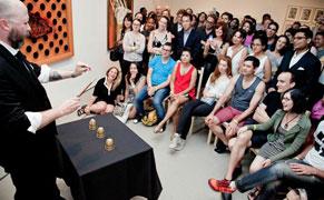 Magician Matthew Holtzclaw at Decoding Alibis