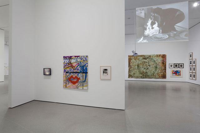 Installation view, 'Alibis: Sigmar Polke 1963–2010,' Museum of Modern Art, April 19–August 3, 2014 (© 2014 The Museum of Modern Art, photo by Jonathan Muzikar) (all works by Sigmar Polke © 2014 The Estate of Sigmar Polke / Artists Rights Society [ARS], New York / VG Bild-Kunst, Bonn, Germany)