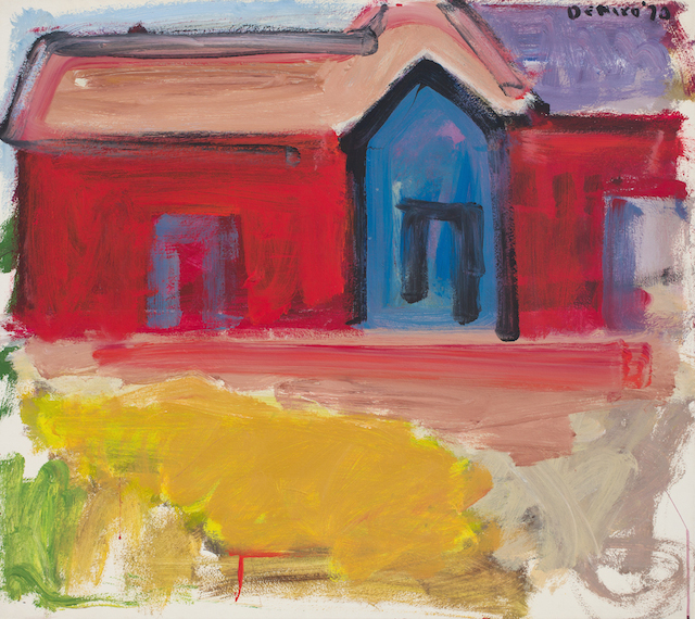 Red House with Blue Door_0125