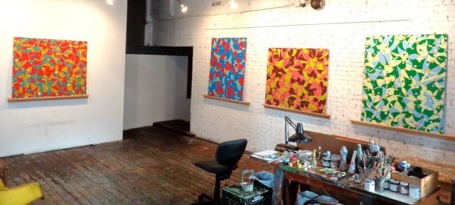 Willenbecher, Studio view, July 2014