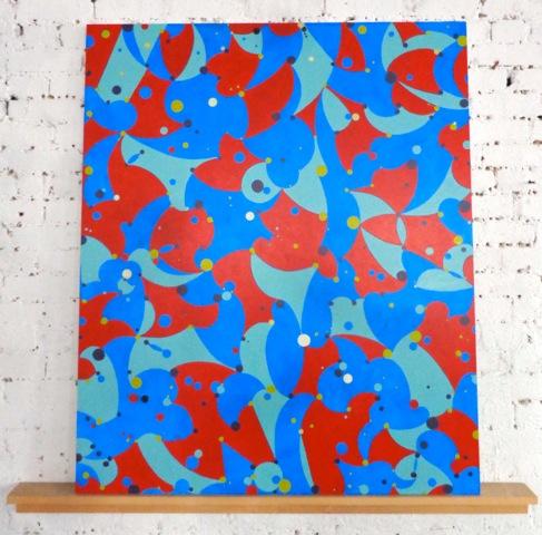 Willenbecher, _July 2014_  panel size- 40_ x 48__ shelf 52_ long