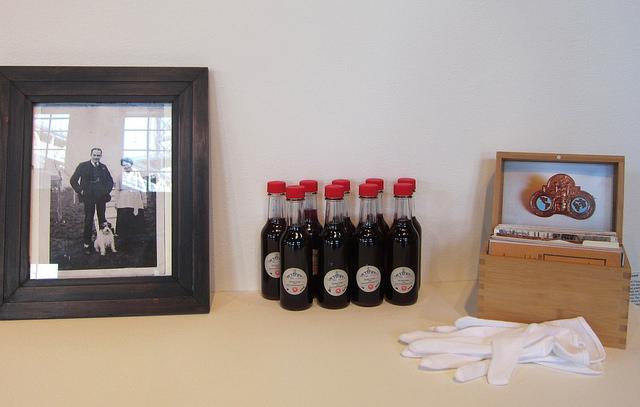"""Joy Garnett, """"Piss & Vinegar (art and ferment)"""" installation"""