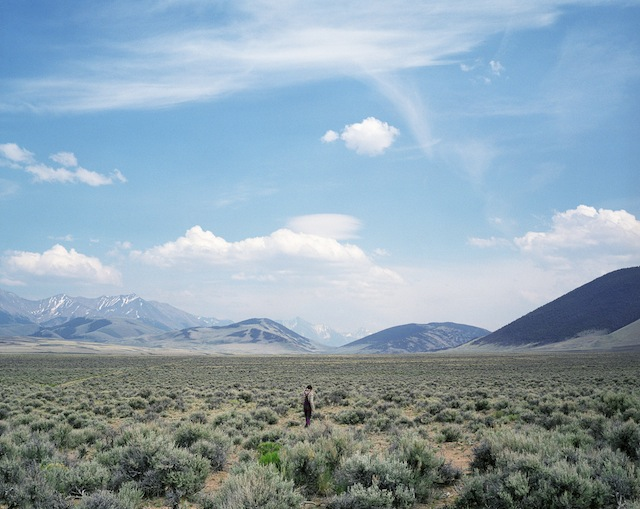 sage field Lone Pine Ridge, Idaho