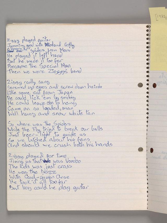 Lyric pink floyd songs lyrics : David Bowie Is Everywhere