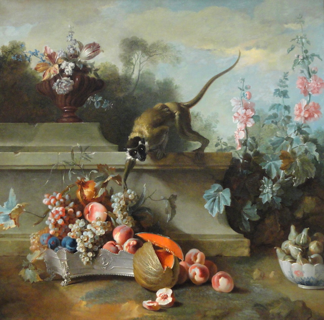 Still_Life_with_Monkey,_Fruits,_and_Flowers,_1724,_by_Jean-Baptiste_Oudry_-_Art_Institute_of_Chicago_-_DSC09427