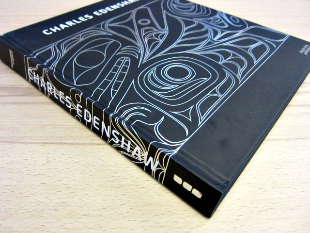 Charles Edenshaw book (photograph by the author for Hyperallergic)