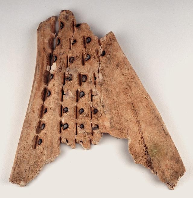 Shang Dynasty oracle bone (via British Library)
