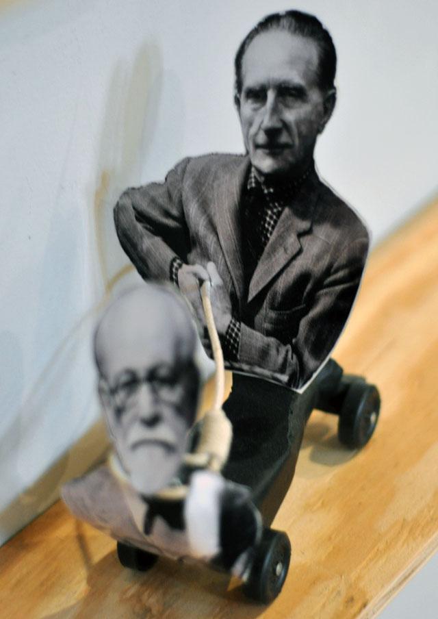 Peter Garfield goes Freudian