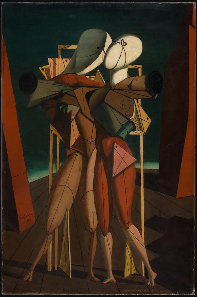 """Giorgio de Chirico's """"Hector and Andromache,"""" 1917, Private Collection © DACS 2014)"""