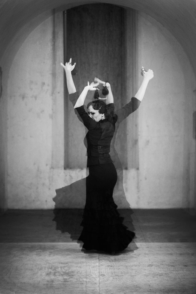 """Elisabet Torras Aguilera performing in """"Crossing Over' (click to enlarge)"""