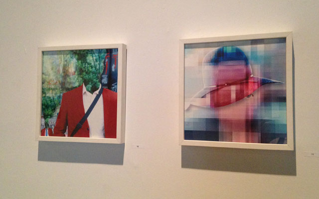 "Carla Gannis, from left to right: ""Re(presented) May 06 (Doppleganger)"" (2012) and ""Re(presented) May 07 (Private Eye)"" (2012) (click to enlarge)"