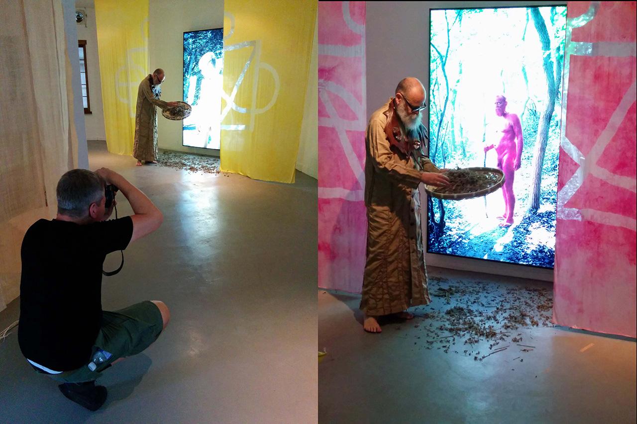 AA Bronson's House of Shame at the 2014 Gwangju Biennial