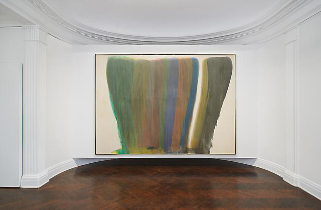A view of a Morris Louis Veil painting at Mnuchin Gallery (via mnuchingallery.com)
