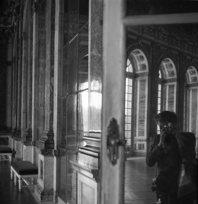 """Vivian Maier, """"Versailles, France (Self-Portrait)"""" (1959) ("""