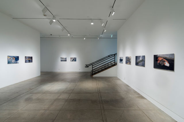 Installation view, 'Steve McQueen: Drumroll' at MOCA Pacific Design Center (photo by Joshua White) (click to enlarge)