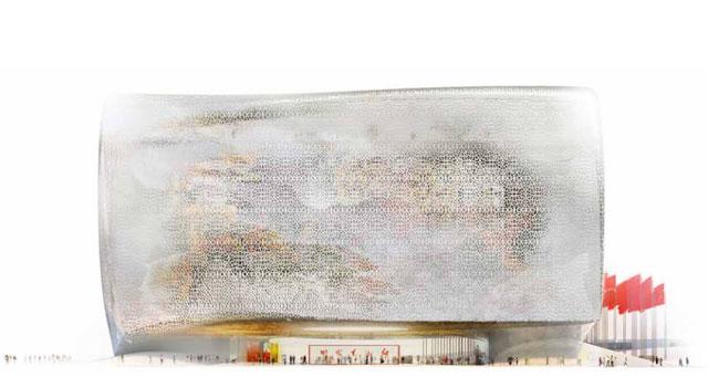 Jean Nouvel, design for NAMOC (all images via jeannouvel.com)