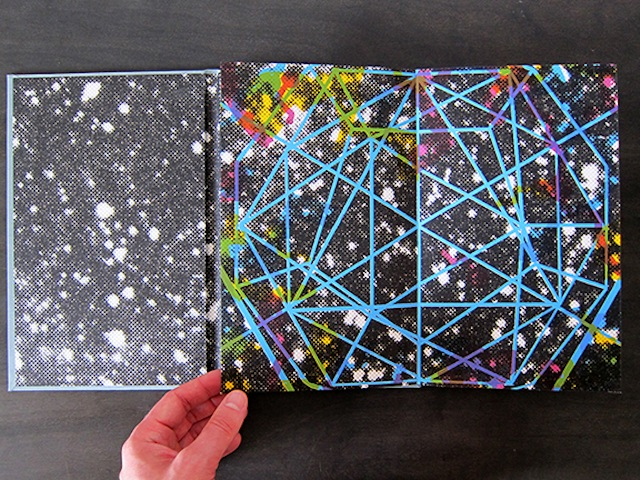 """""""The Planets Move Far Too Slowly In Their Orbits To Be Heard,"""" an artist's book by Christopher Kardambikis made in February 2014 (all images courtesy of the artist)"""