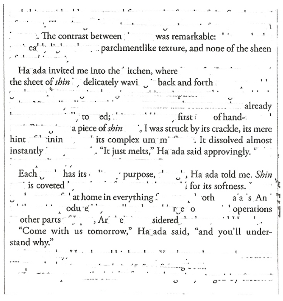 Figure 4. Scan of Clarity.