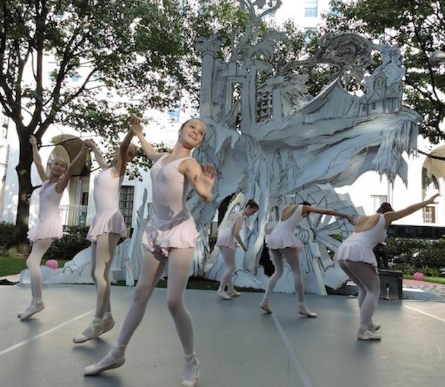 "Joffrey Ballet School. ""Untitled"" 2014"