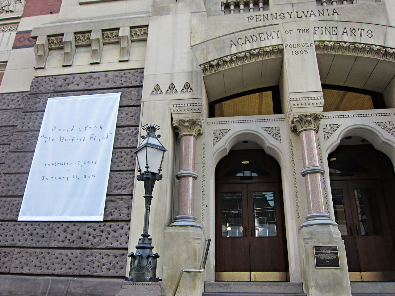 Exterior of the Pennsylvania Academy of the Fine Arts