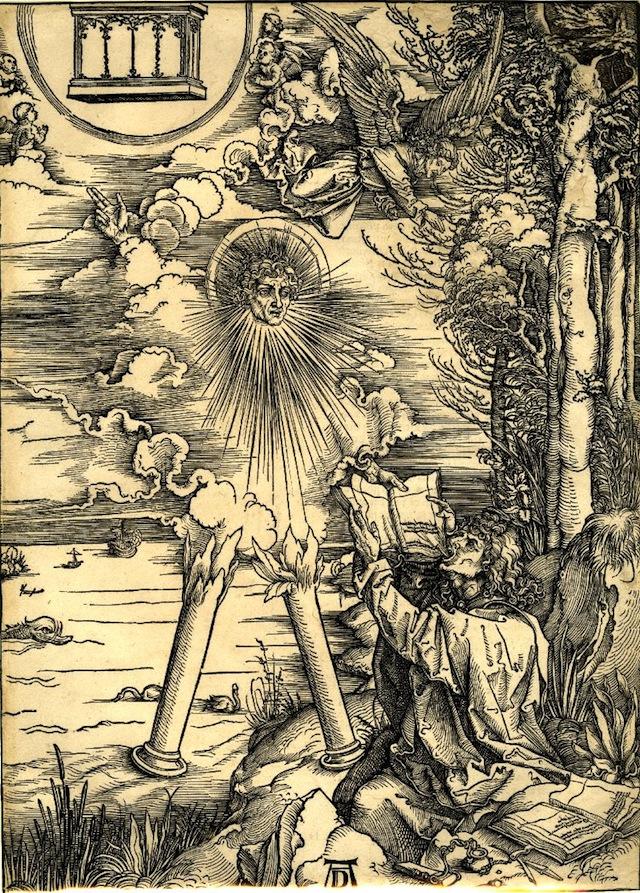 St John eating the book (1498) (via British Library)