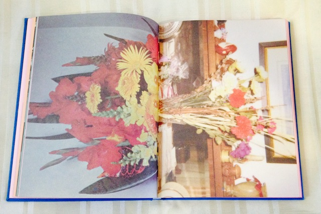 Flower centerfold from Sara Cwynar's The Kitsch Encyclopedia, published by Blonde Art Books. All photos courtesy of the author for use on Hyperallergic.