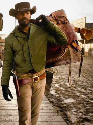 Django Unchained (via oscars.org/hollywoodcostume)