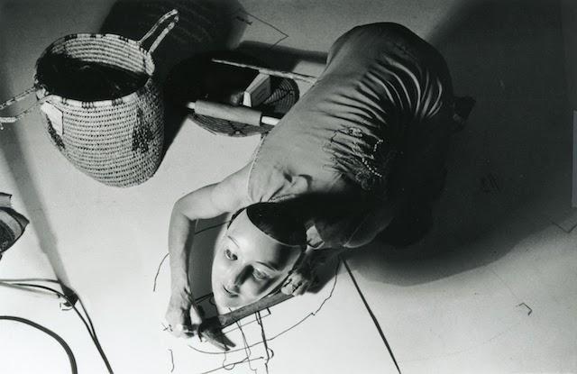 Joan Jonas, Organic Honey's Vertical Roll (1972), photo by Roberta Neiman