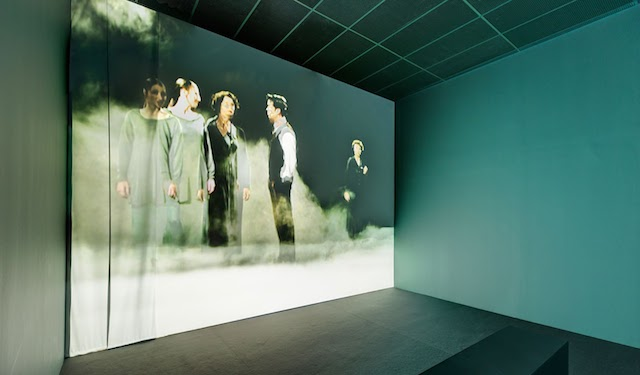 Judith Barry, Voice off (1999), Theatrical Fields, Centre for Contemporary Art